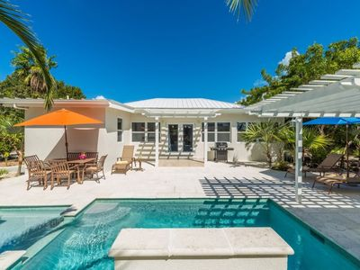Photo for Newly renovated - 3 blocks from Fabulous Grace Bay Beach