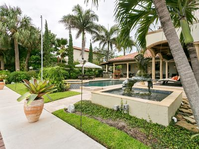 Photo for Luxurious Tuscan Water Front Home With Pool Close To Beaches