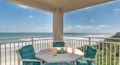 Photo for PH5B Palm House. Beautifully decorated, oceanfront 3 bedroom 2 bath condo