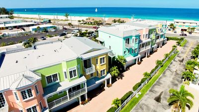 Photo for 115 Unique Townhome with views of the Gulf and Bay...Steps to the Beach!