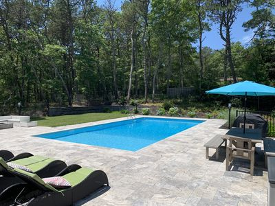 Photo for Midcentury Modern Gem in New Seabury w/private pool, close to beach & dining