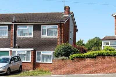 Front of House in Quiet Close with Off  Street Parking at Front