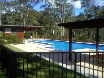 Photo for Wallarah Lodge, lake, pool, bush & beach getaway