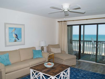 Photo for UPDATED OCEANFRONT - STEPS TO BEACH