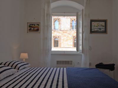 Photo for Lovely one bedroom apartment for 3 on the main Hvar town square