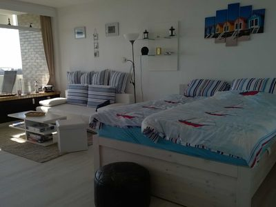 Photo for B08-6 - beautiful 1-room apartment with sea view facing south - B08-6 - 1-room apartment with sea view - Panoramic