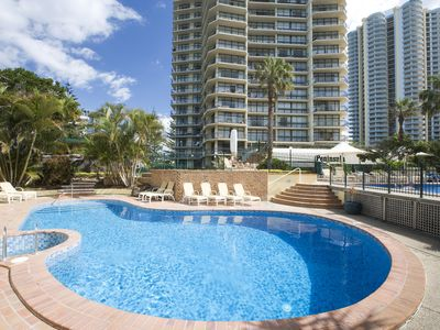 Photo for **NEW LISTING** 2 Bedroom Apartment - ACROSS FROM THE BEACH!!!