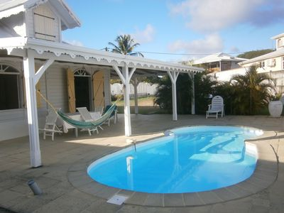 Photo for Beautiful Creole Villa with pool in Ste Anne Martinique 10 minutes from the beaches