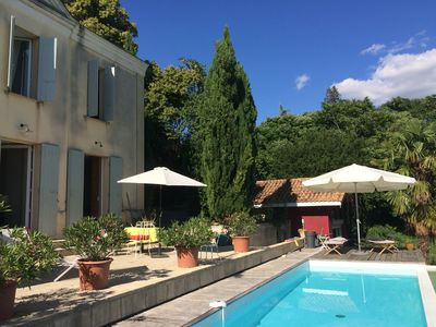 Photo for charming house with views of the Dordogne valley 20 minutes from Bordeaux