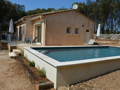 Photo for House air conditioned pool 2000m2 closed