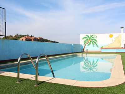 Photo for 2 bedroom apartment with pool in the center of Calella with wifi
