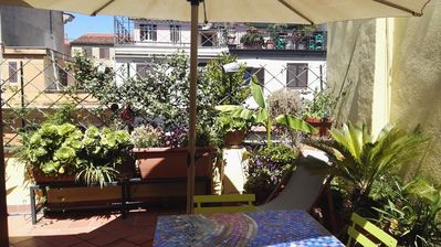 Photo for Delicious studio with terrace in center of Rome. Esquiline area