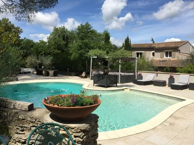 Photo for Beautiful villa at the foot of the Alpilles next to St Remy de Provence
