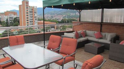 Photo for Both Penthouses Elevator, Roof Festives