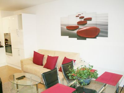 Photo for Apartment with garage, classified *** at 100m from the city center and 400m from the beaches