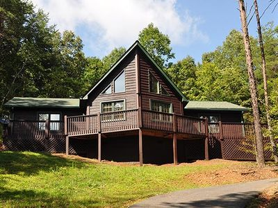 Photo for Great Family Cabin  - 3 br plus loft - Hot Tub - Pet Friendly - WIFI