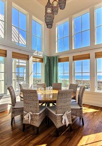 Photo for Luxury oceanfront beach home, walk to pools, lakes & beach!