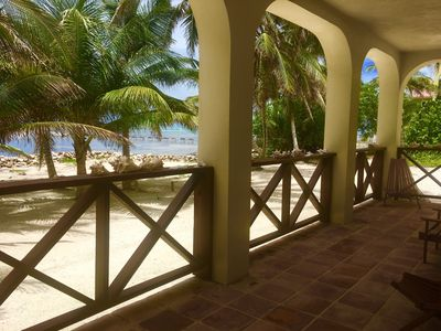 Photo for GREAT BEACH FRONT LOCATION with Golf Cart and Sea Kayaks inc in price!