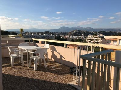 Photo for Exceptional T1 roof terrace solarium panoramic sea and sun view
