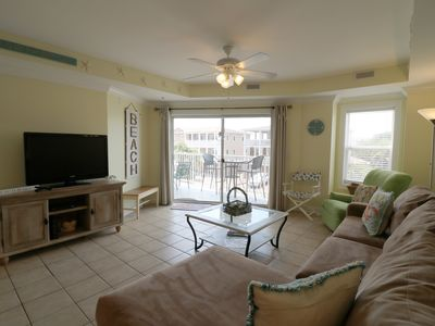 Photo for Updated Tybee Condo with Heated Pools & onsite Restaurant.