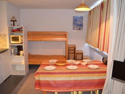Photo for Apartment Les Menuires, studio flat, 4 persons