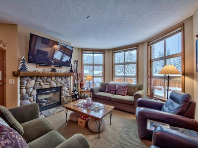 Photo for Central location steps from the Village with private hot tub!