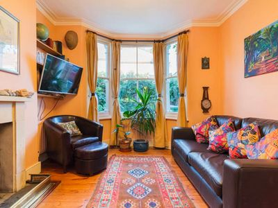Photo for Characterful end of terrace house in cul de sac leading to impressive park