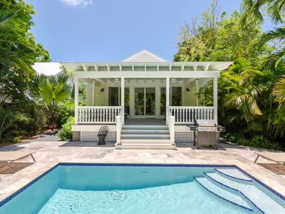 """Photo for ~ VILLA JOSINE ~ NEW Luxurious """"Old Town"""" Home w/ Heated Pool & Parking!"""