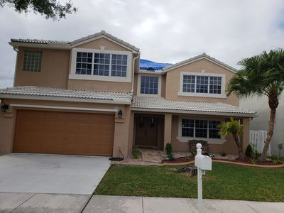 Photo for Entire 4/3 home with a pool! Montly rental.