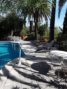 Photo for Villa private pool 2000 plot fenced all comfort 12 people