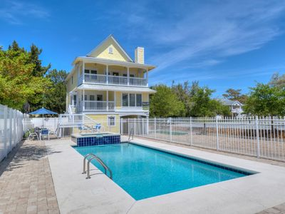 Photo for All Dunn, Luxury Beach House with a Great Outside Pool Area