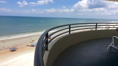 Photo for GREAT OCEANFRONT CONDO at SANDDOLLAR ..DIRECT BEACH ACCESS  2 Bedrooms / 2 Baths