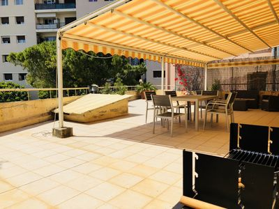 Photo for Apartment with large terrace border Monaco