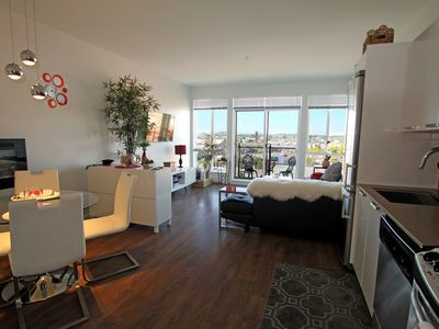 Photo for Stylish condo in the BEST Location! Spectacular Views, Secure Parking, Laundry