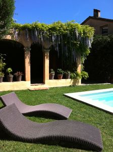 Photo for Charming, spacious property with pool in a central, quiet and idyllic location