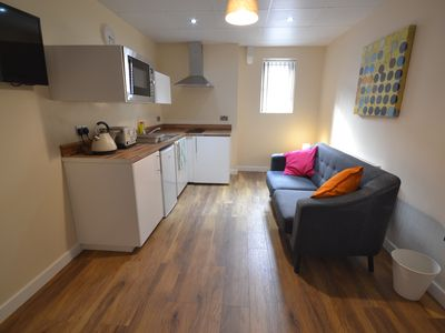 Photo for beautiful modern city apartments 5 mins from local transport links