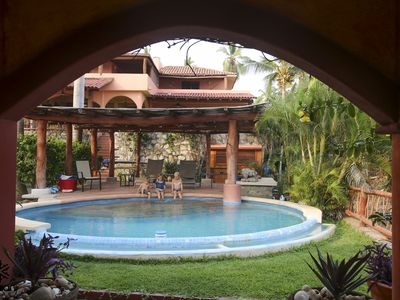 Photo for Surrounded by Gardens & Pool, the Casita is Right on the Beach