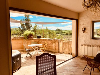 Photo for Beautiful vineyard rental - cottage close to Pézenas