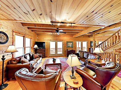 Great Room - This expansive lodge is professionally managed by TurnKey Vacation Rentals.