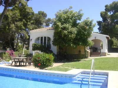 Photo for Villa in Javea with all modern conveniences, Wi-Fi and sandy beach 1.7 km