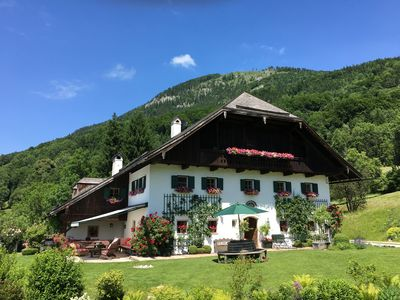 Photo for Luxurious country house, Sound of Music style above Salzburg