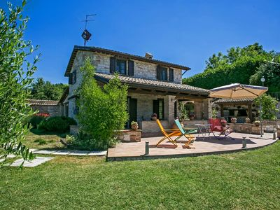 Photo for VILLA DORIANA-Private Villa with pool,wi-fi,panoramic view,countryside,Le Marche