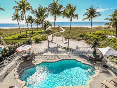 Photo for Welcome to 2704 and 2706 Estero Blvd. This property includes a 3 bedroom, 2 bath Gulf front home, and a 1 bedroom, 1 bath adjacent beach cottage