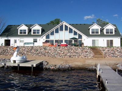 Photo for Beautiful Large Home On Lake Petenwell - Approx 30 Minutes From The Wi Dells