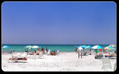 Photo for Midnight Cove townhouse! Private Beach with lounge chairs on beach!