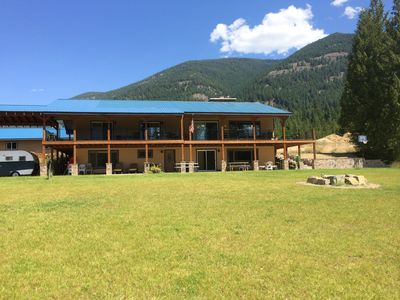 Photo for near Bull Lake, Montana, Comfortable 2000 SF daylight basement housing