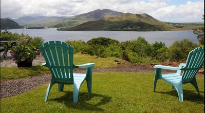 Relax and enjoy the stunning views from the garden.