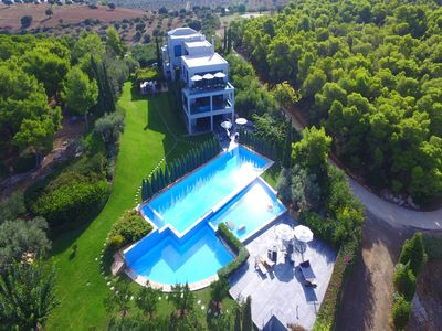 Photo for Villa Helic No10 Seafront is a modernist open ... - Four Bedroom Villa, Sleeps 10
