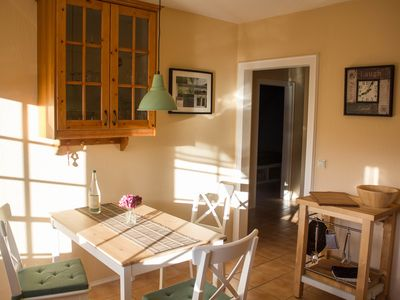 Photo for Stylish and comfortable **** Apartment with Loggia, garden and pool use