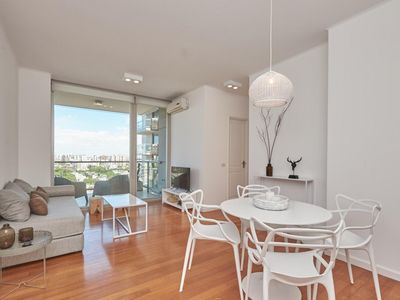 Photo for Torre Montagna-1 BR Apt with balcony and amenities